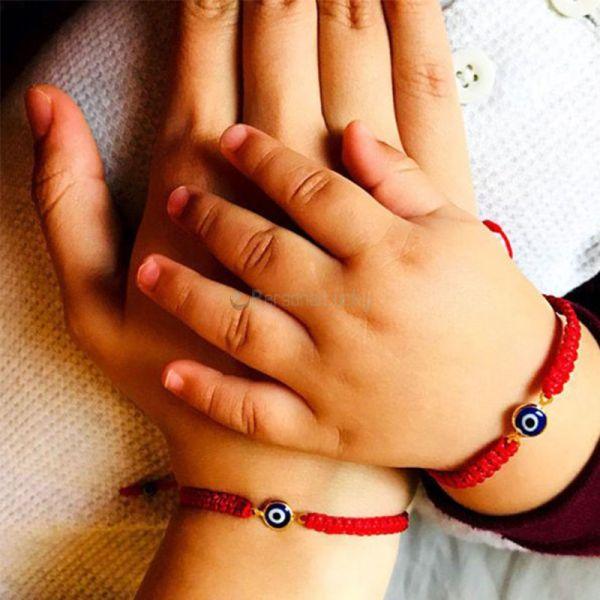 Evil Eye Bracelet for Mommy and Me Protection Bracelet
