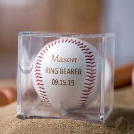Personalized Engraved Baseball