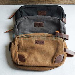 Personalized Toiletry Bag Dopp Kit
