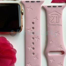 Personalized Graduation Silicone Watch Band